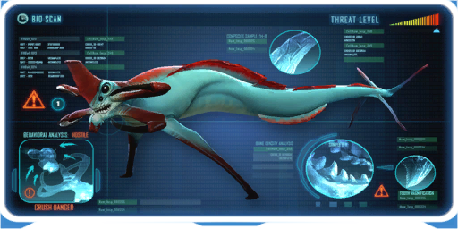 Image Subnautica Reaper Leviathan Attack Prawn Open Side