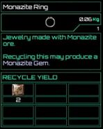 Monazite Ring