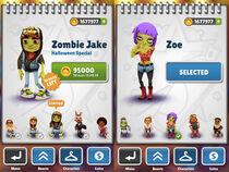 Zombie Jake and Zoe