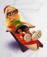 Elf Tricky riding Lowrider