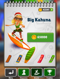 Big Kahuna Menu