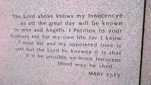 Maryeastey-statementathanging