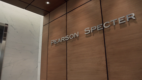 Pearson Specter - Wall Sign