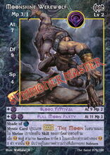Moonshine Werewolf