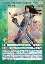 Lucretia, the Sword Magician
