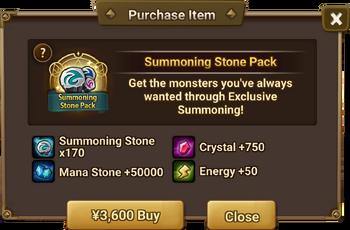 Summoning Stone Pack