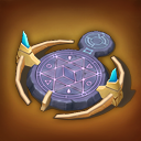Power-up circle