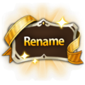 Nickname Change Ticket Icon