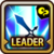 Leader Skill Attack Power (Mid) Wind Icon