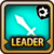 Leader Skill Attack Power (Low) Light Icon