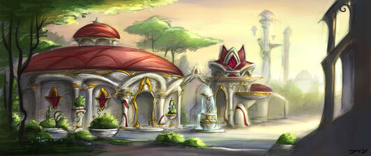Blood Elf Architecture