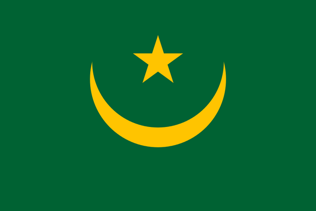 File:Flag of Mauritania.png
