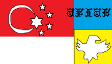 The Khanistak Empire Flag