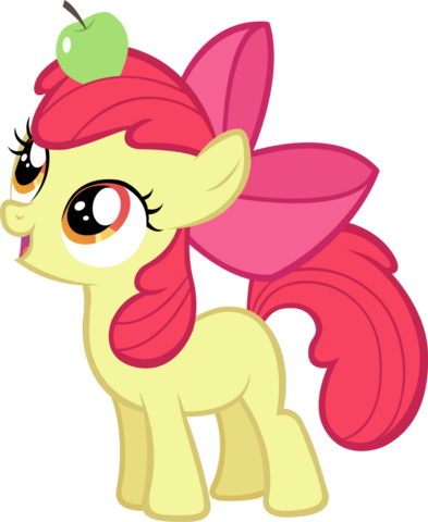 File:Apple Bloom with an Apple.png