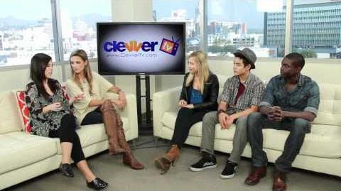 Supah Ninjas Interview With Gracie Dzienny, Ryan Potter & Carlos Knight