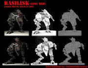 Print Basilisk by MikeTehFox