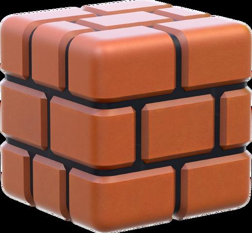 File:Brick Block Artwork - Super Mario 3D World.png