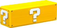 Long Question Block Artwork - Super Mario 3D World