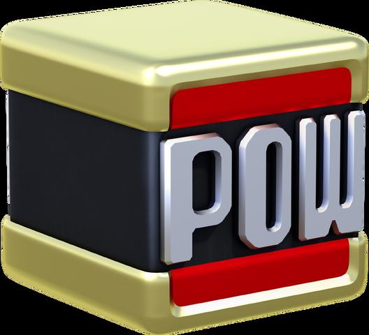 File:POW Block Artwork - Super Mario 3D World.png