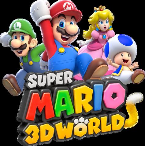 File:Group Artwork Logo - Super Mario 3D World.png
