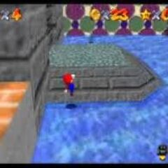 Another picture of Mario in the Submerged section