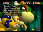 1st Bowser text N64