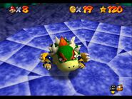 Mario throw Bowser N64 2