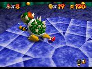Mario throw Bowser N64 3