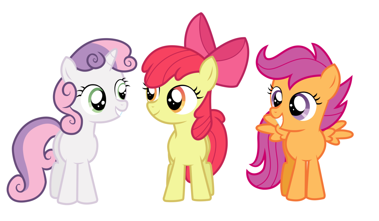 My Little Pony Coloring Pages Cutie Mark Crusaders : Cutie mark crusaders mlp cf super smash bros iv