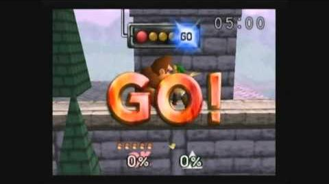 Fastest Possible Time Single Player DK vs Link(4 seconds)