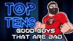 Top Ten Antiheroes