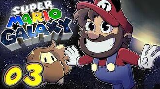 Super Mario Galaxy Let's Play 3 - Cancer Minor