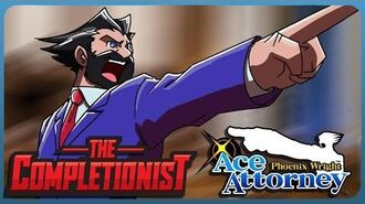 The Completionist Phoenix Wright Ace Attorney - The Bearded Rookie