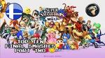 Top Ten Smash U Final Smashes