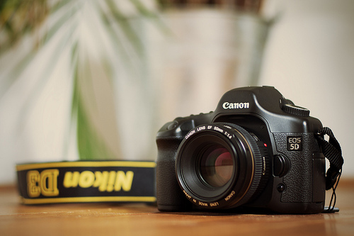File:My Canon 5D new Canon 50mm EF F1.4 Lens.jpg