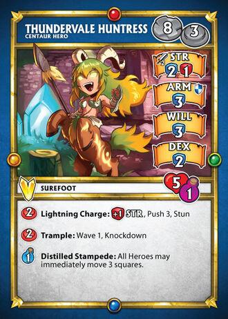 Card thundervalle huntress