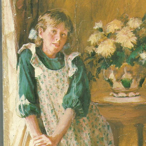 File:Pollyanna Whittier (Pollyanna book cover, cover might be from the 90's).png