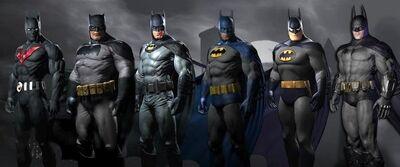 Batman costumes dlc