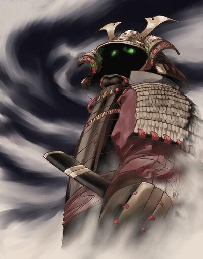 Samurai ghost by PootDamnYou