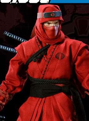 Sideshow red ninja