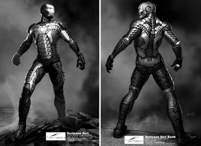 Iron-Man-3-Suit-Black-and-White-Wallpaper