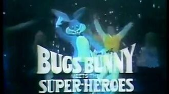 'Bugs Bunny Meets The Super-Heroes' Stage Show Commercial (1978)