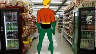 Aquaman Dance Party - Supermarket