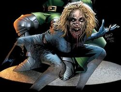 Invisible Woman Marvel Zombies