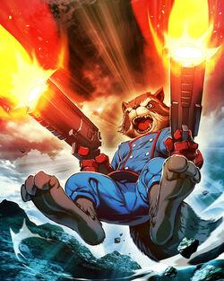 Rocket Racoon comic version