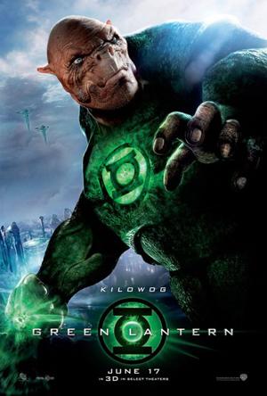 Kilowog character poster