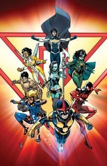 New Warriors Volume 5 Issue 1 (2014) Variant Cover by Marcus To