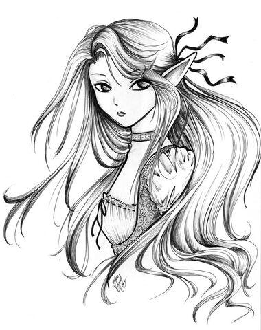 File:Elegant Elf by beautiful shinigami.jpg