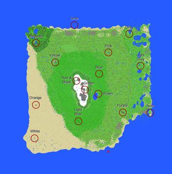 Lethamyr map