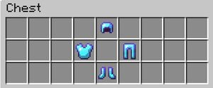 Enchanted Diamond Armor Contents